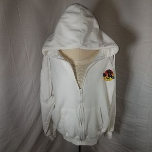 Key West Florida  Hooded Zip Up Jacket Ladies Med